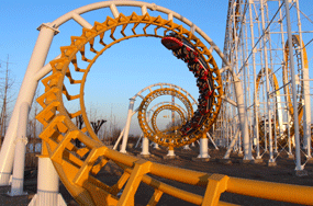 Giant Roller Coaster Rides for Sale in Beston - Amusement Park Thrill Rides to Turkey