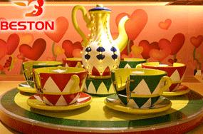 Spinning Teacup Ride price at top amusement rides manufacturer