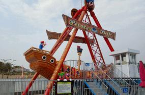 professional viking boat amusement rides manufacturer in China