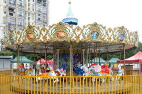 fairground carousel rides manufacturer and supplier in China