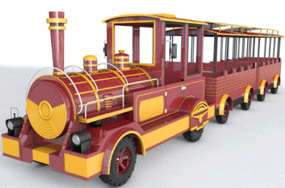 amusement trackless train rides for shopping malls and parties in Turkey