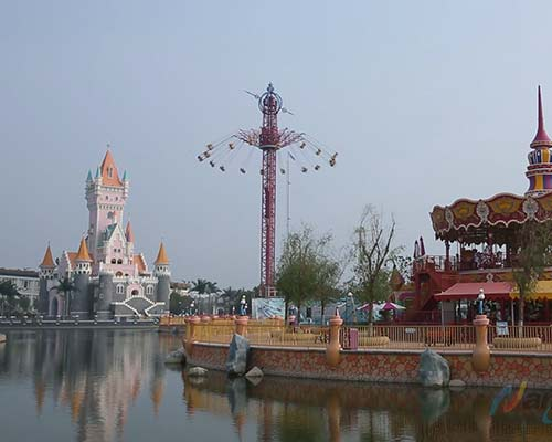 amusement park giant spinning swing ride for sale