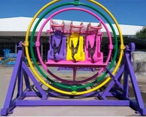 amusement park human gyroscope ride for sale