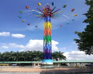 popular swing tower ride for sale