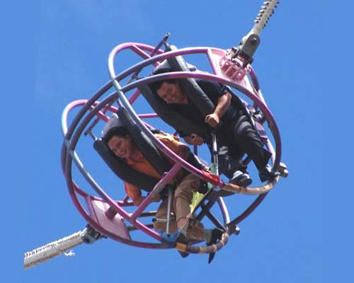 best quality ball slingshot ride