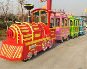 good quality electric trackless train for sale