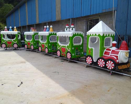 good quality santa christmas train ride for sale