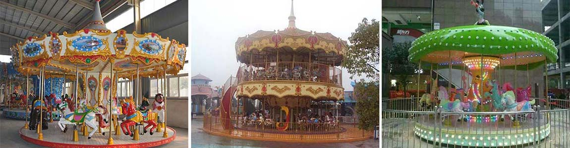 good quality theme park carousel rides for sale