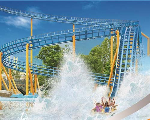 good quality water roller coaster for theme park