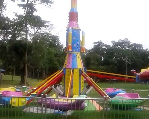 plane amusement ride for theme park