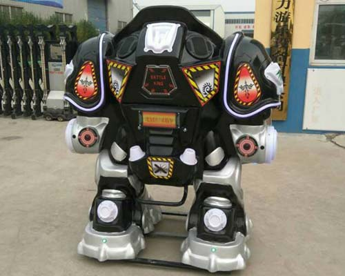 good quality black kiddie robot ride for ssale
