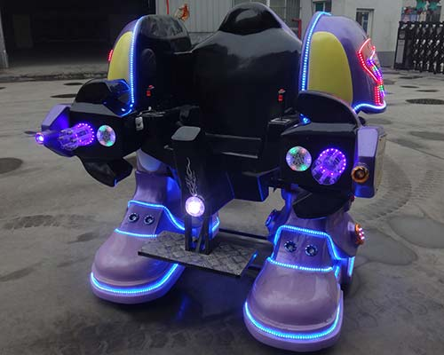 purple kiddie robot ride for sale