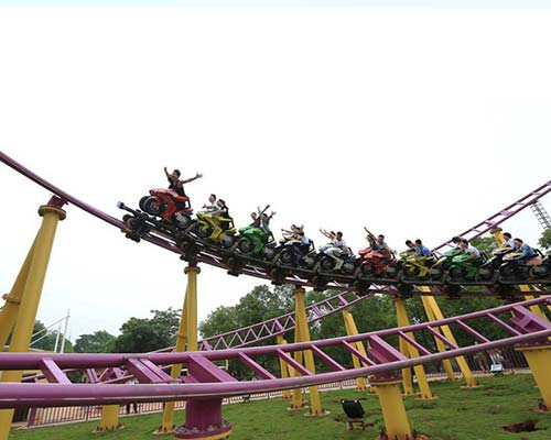 amusement park motorcycle roller coasters for sale