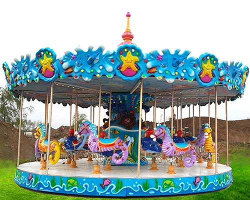 new model carousel ride for sale