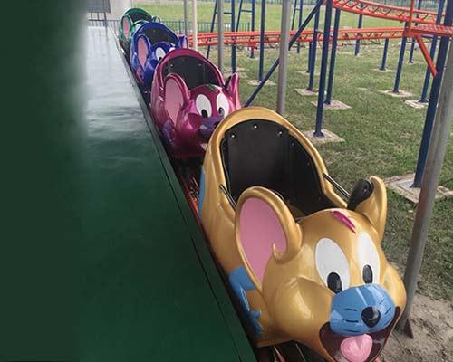 best sale crazy mouse roller coaster for sale