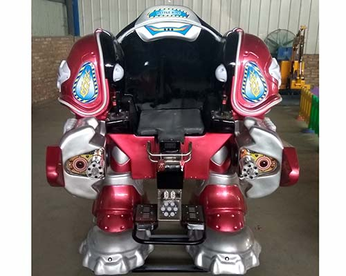 red kiddie robot ride for sale