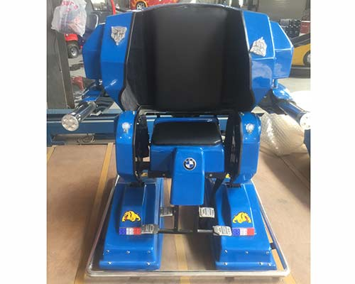 blue mini robot ride for sale