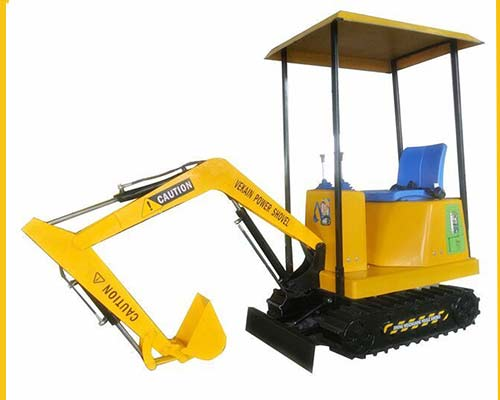 kids excavator digger for outdoor play