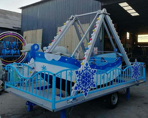 kids pirate ship with trailer