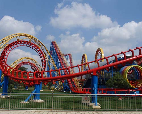 good quality amusement park roller coaster for sale