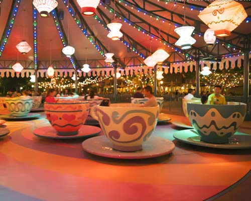 popular spinning tea cup ride for sale