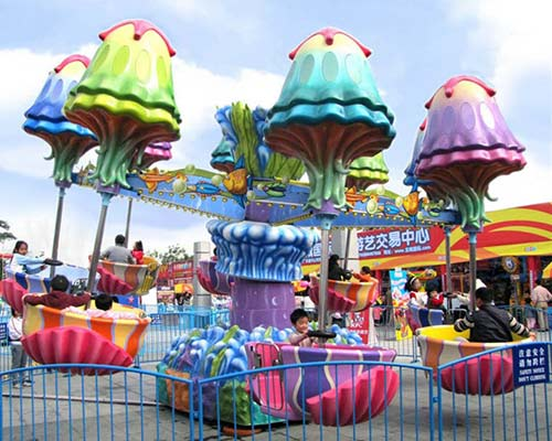 Funfair jellyfish rides with good quallity