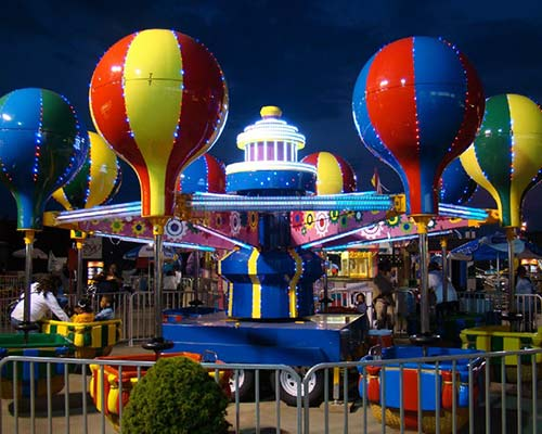 samba balloon ride for sale with lights