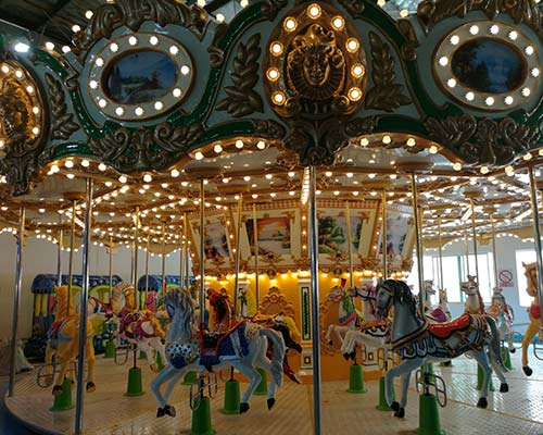 modern style carousel ride for sale