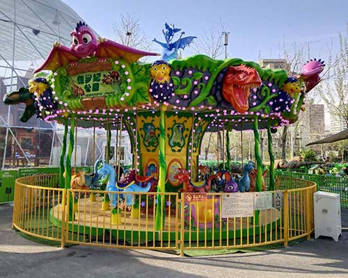 new model forest carousel rides for sale