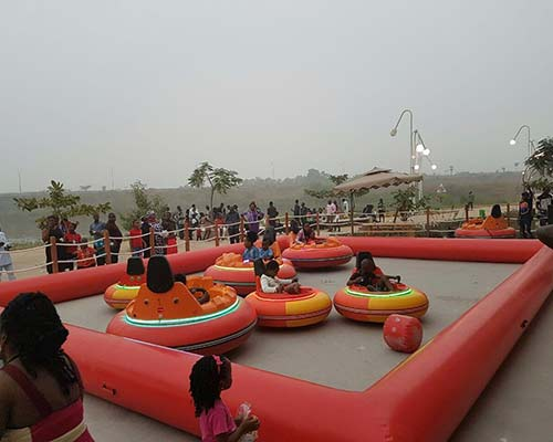 mix color inflatable bumper cars for sale