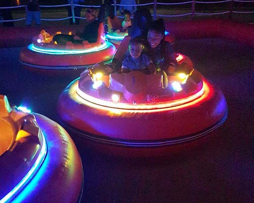 inflatable bumper cars for parents and kids