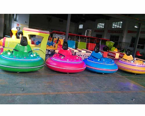 pure color infaltable bumper cars