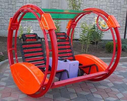 red color popular style le bar car ride for sale