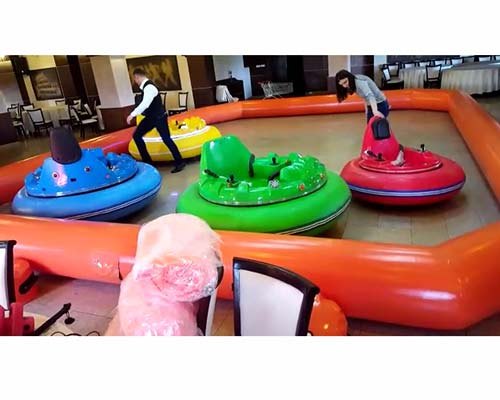 colorful inflatable bumper cars for sale