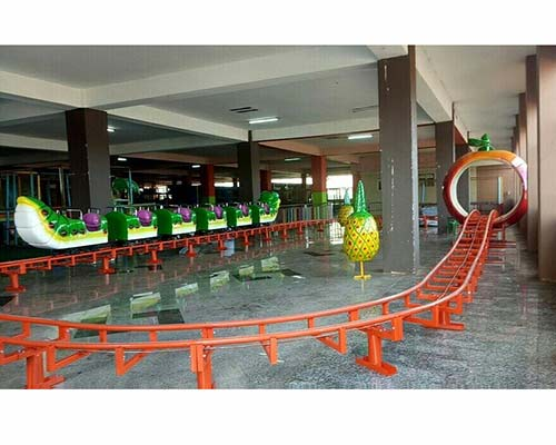 mini roller coaster ride for kids