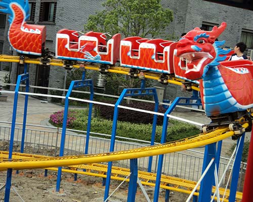sliding dragon style mini roller coasters for sale
