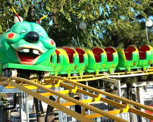 park mini roller coaster ride for sale