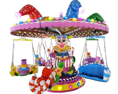 colorful kiddie swing chair ride for sale