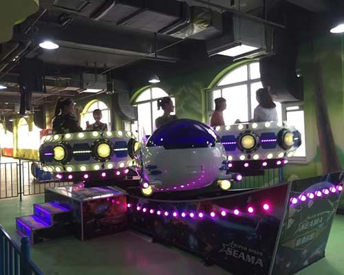 luxury lights style flying aircraft ride for sale