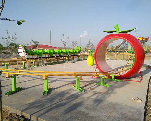 new model mini worm roller coaster for sale