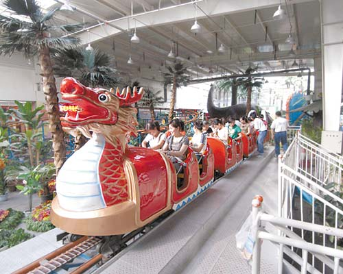 hot sale sliding dragon roller coaster for sale