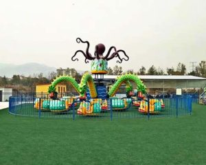 Amusement park octopus ride for sale