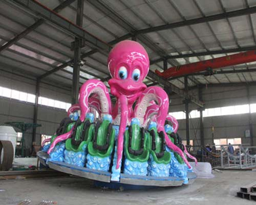 Kiddie octopus rides for small kids