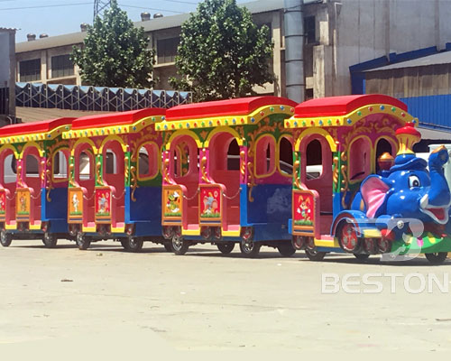elephant trackless train manufacturer