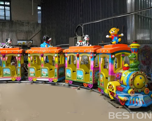 amusement track train for sale